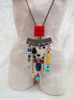 Hand painted Toy Necklace