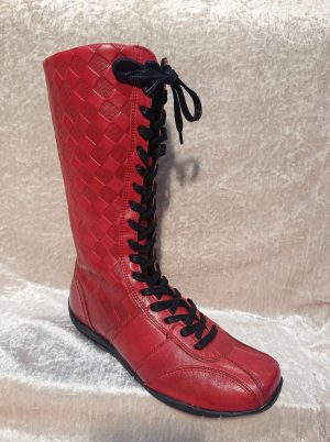 HOT PULSE BOOTS_red