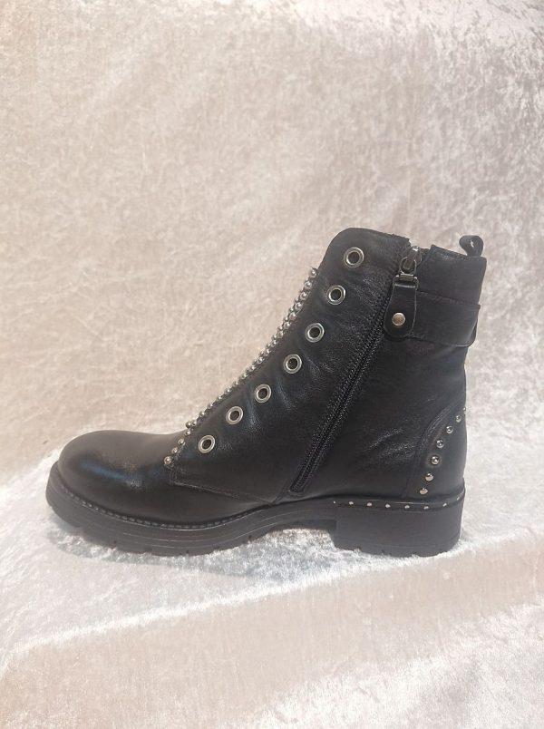 MACJEIKA Black Leather boots
