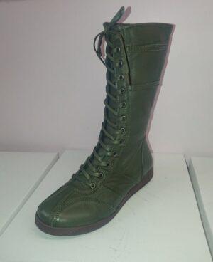 HOTPULSE HPW021-08 Boxer boot-forest-green
